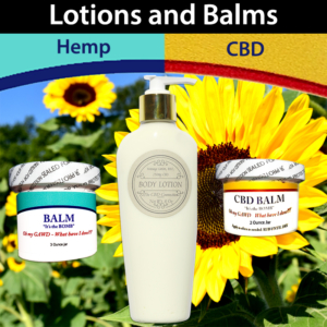Lotions and Balms